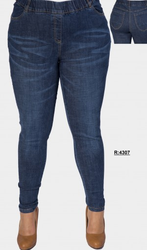 JEANS GOMA R-4307